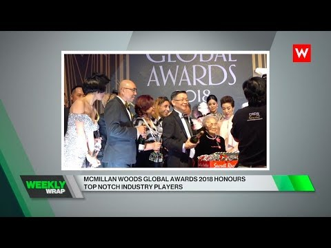 """CHANNEL W (CH 634 - Weekly Wrap) """"7th McMillan Woods Global Awards 2018"""""""
