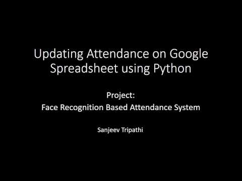 Automatic Attendance System using Face Recognition ( OpenCV 3 1 0