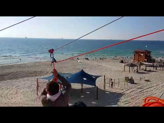 צפו בניסוי כלים לאומגה בחוף אורנים