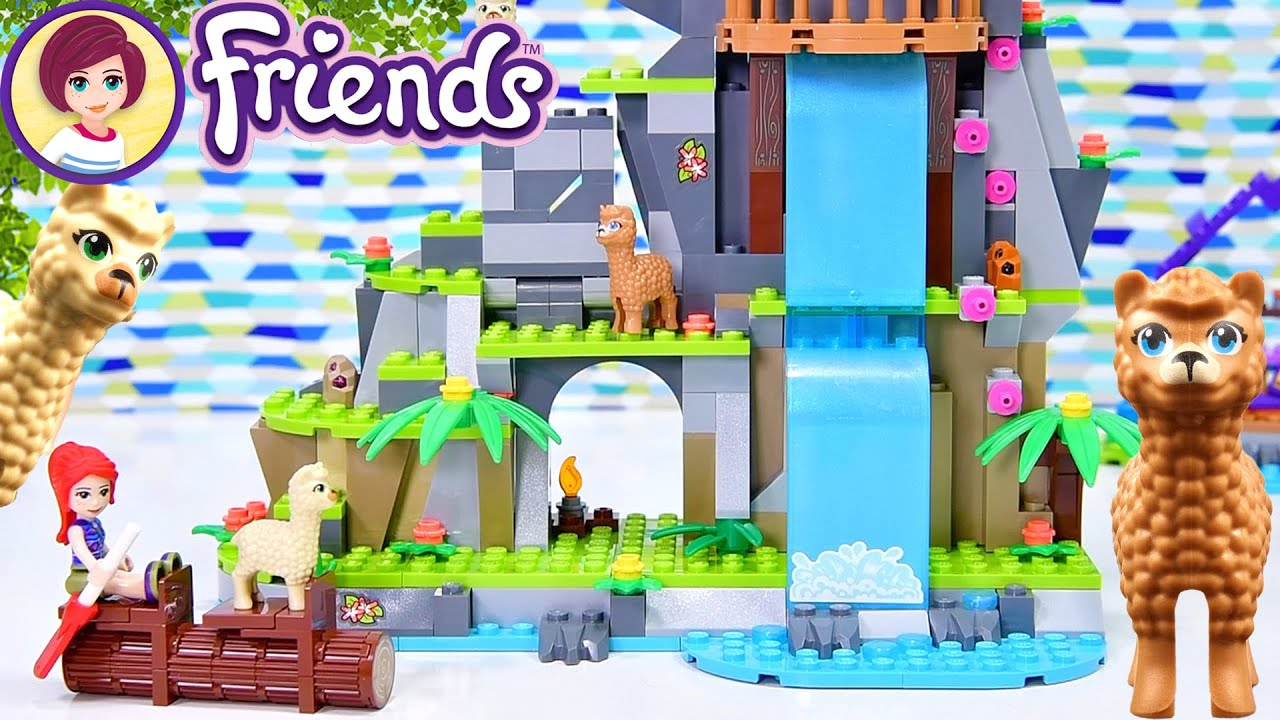 Alpaca Mountain Jungle Rescue - Lego Friends Build & Review