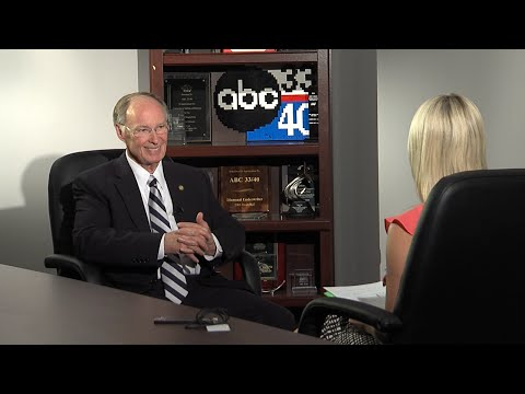 Alabama Gov Robert Bentley talks state lottery with ABC 3340