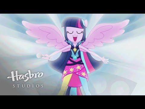 "MLP: Equestria Girls - Rainbow Rocks - ""Rainbow Rocks"" Music Video"