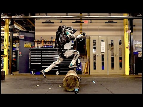 Boston Dynamics' amazing robots Atlas and Handle