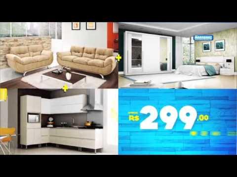 Casa completa lojas marabraz youtube for Amueblar casa completa