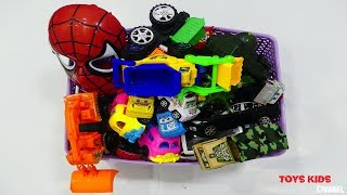 Review 36 Toy Cars Video For Kids, Box Full Of Car Toys Video For Children, Toys Cars Review