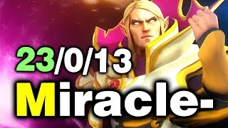 Miracle- Invoker GOD! - 23-0-13 - Liquid vs Newbee - EPIC DAC DOTA 2