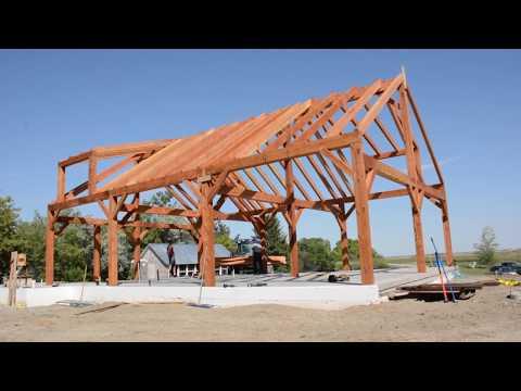 Rural Saskatchewan Timber Frame