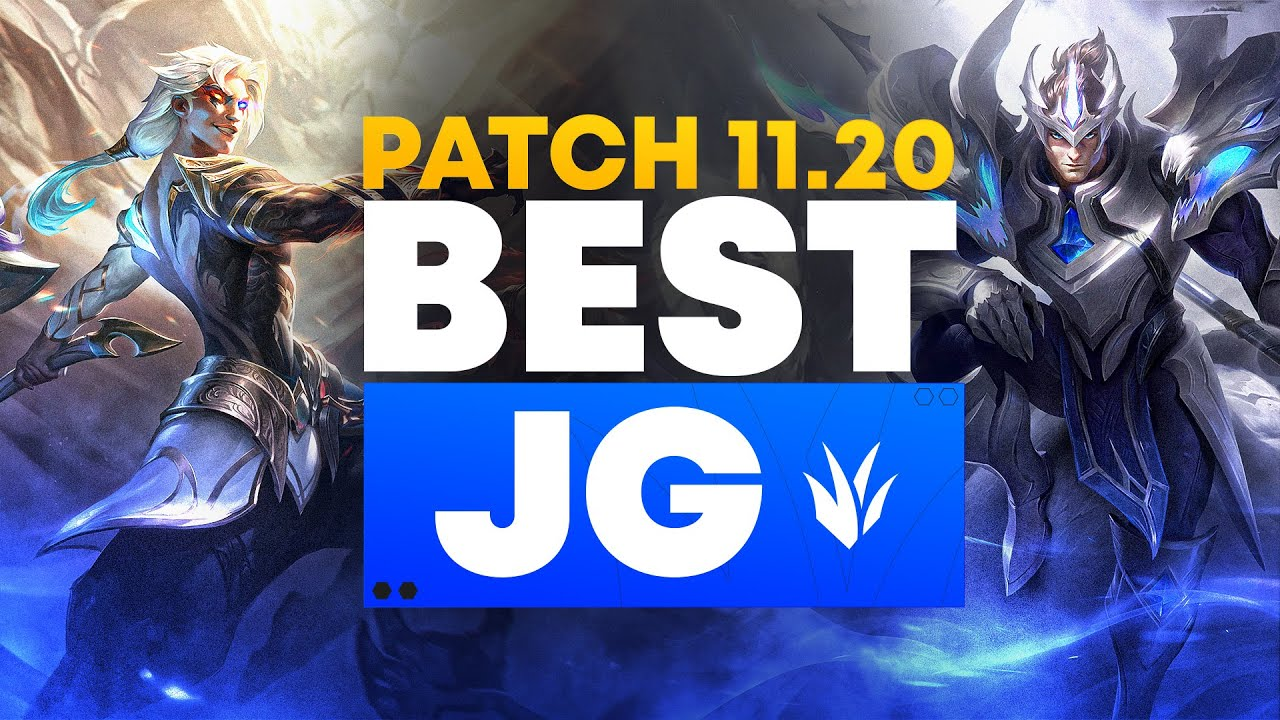 The BEST Junglers For All Ranks On Patch 11.20! | WORLDS PATCH Tier List League of Legends Season 11