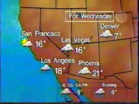 Partial Travellers Forecasts and bumpers - Fall 1998