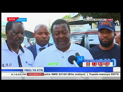 Musalia Mudavadi alleges unfair competition from Jubilee after chaos in Meru