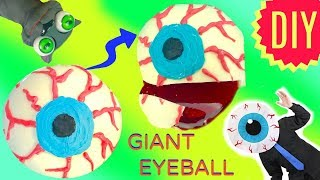 How to Make a Giant Chocolate Candy Eyeball with Jello Filling