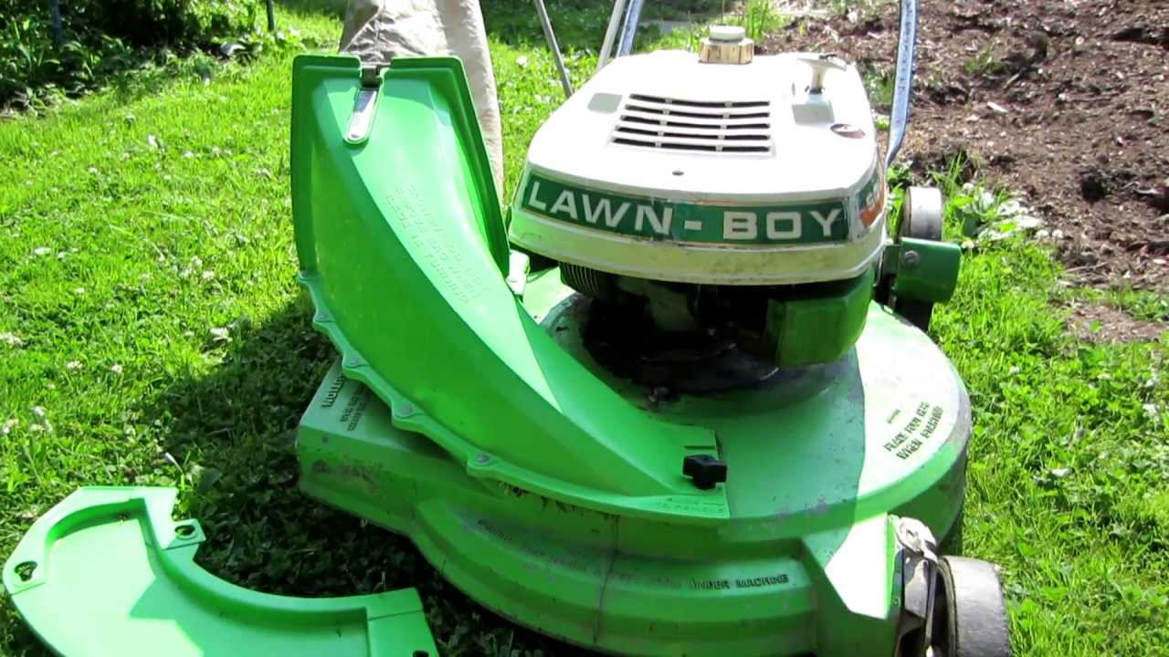 How To Change Attachments On A Lawn Boy Mower