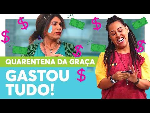Graça pegou o CARTÃO DE CRÉDITO de Marraia!   Quarentena Tô de Graça   Humor Multishow from YouTube · Duration:  14 minutes 3 seconds