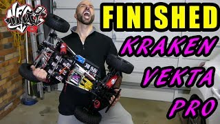 NFG RC KRAKEN VEKTA.5 LSE - MGM ESC BRUSHLESS BEAST Build Series Part 6 - FINISHED!