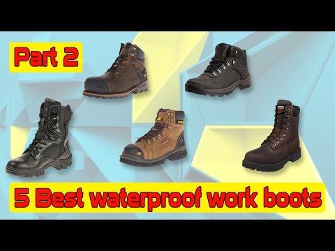 5 Best waterproof work boots and mens waterproof work boots Part-2