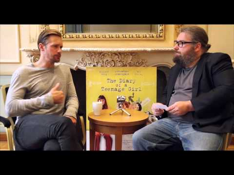 VIDEO INTERVIEW: Alexander Skarsgård (The Diary of a Teenage Girl)