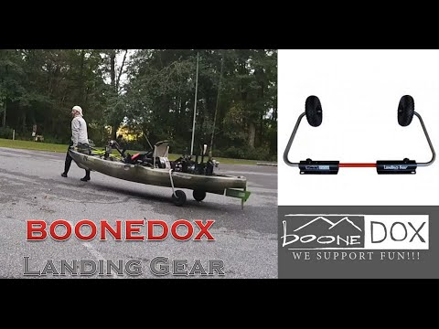 Boonedox Landing Gear Kayak Cart Review (First Impressions)