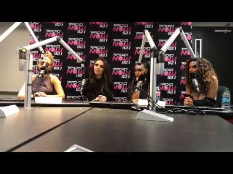 Little Mix Live Radio Interview In Houston With Radio Now 92.1 - 08/04/17