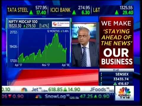 Mr Sunil Subramaniam CEO, Sundaram Mutual Fund in Interview with CNBC Trading Hour 05 April 2018