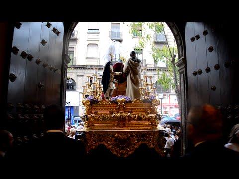 San Esteban se refugia en la Anunciación - Semana Santa de Sevilla 2016
