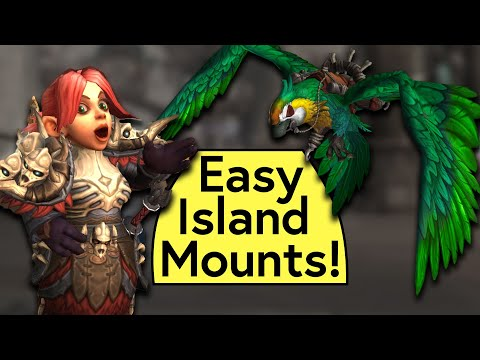 Easy Island Expedition Mounts! Dubloon Loot Box Guide