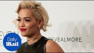 Rita Ora, Iggy Azalea, & Nick Jonas attend Calvin Klein party - Daily Mail