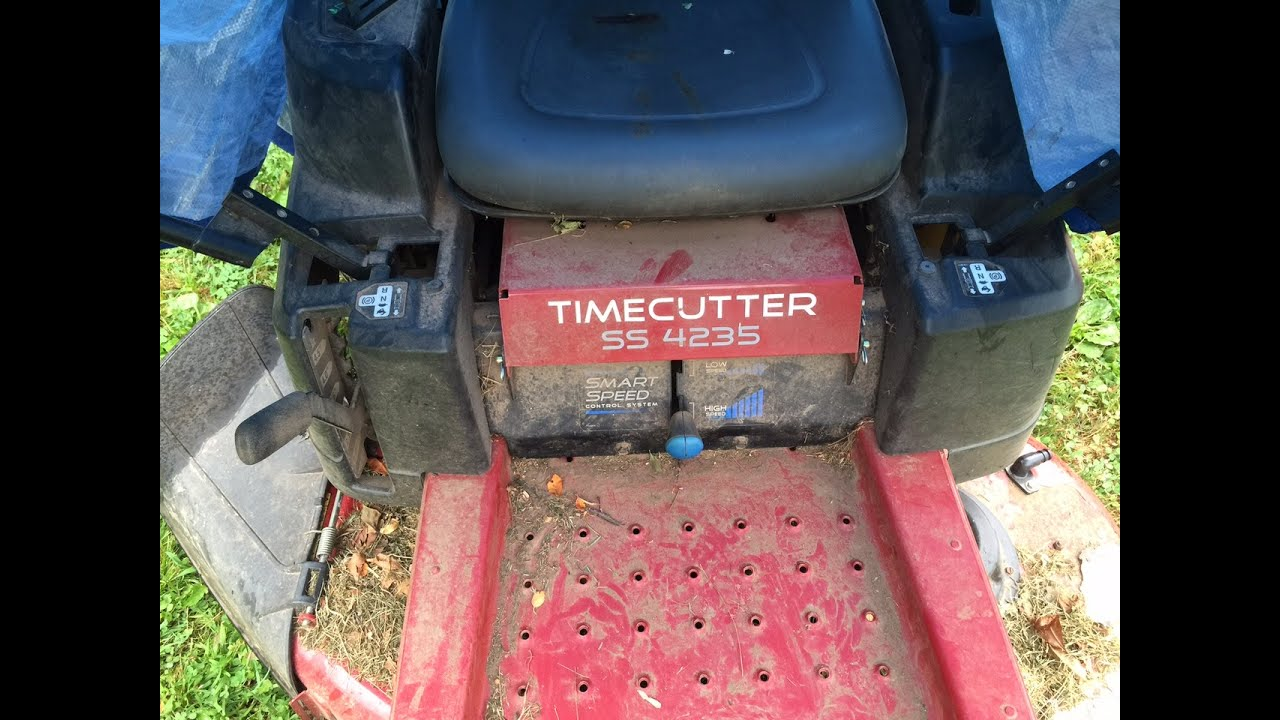Toro Timecutter Ss 4235 Won U0026 39 T Start