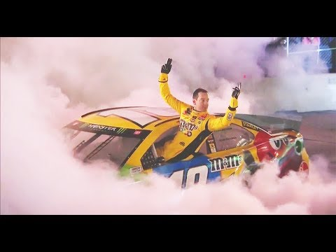 Casey Carter - Kyle Busch Nails It at Burnouts On Broadway