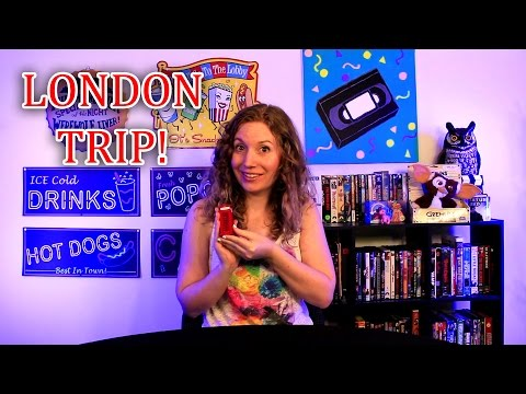 London Trip: Meeting Grumpy Cat, Crappy Art, and More!