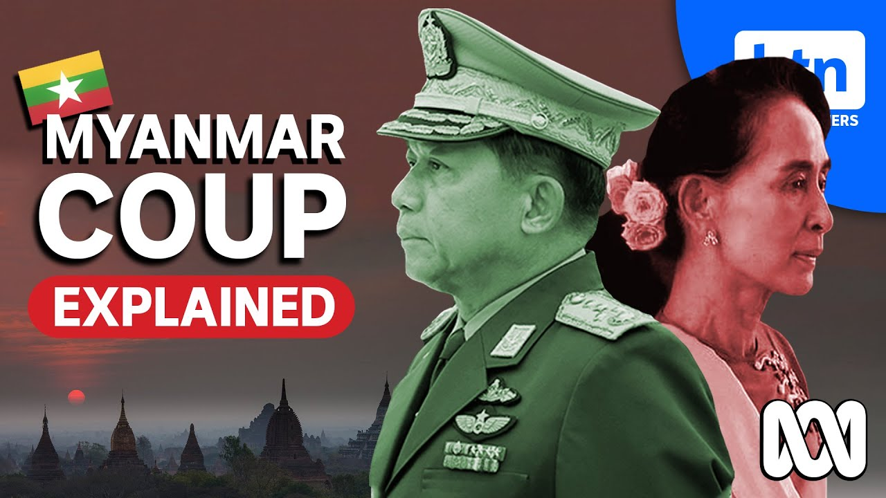 Myanmar Coup Explained: Protests, Military, Min Aung Hlaing & the Latest News - YouTube