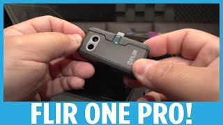 FLIR One Pro Hands-on