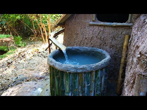 Save Water In Bamboo Tank