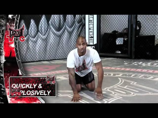 MMA Workout: Starting Blocks with Rasheed English