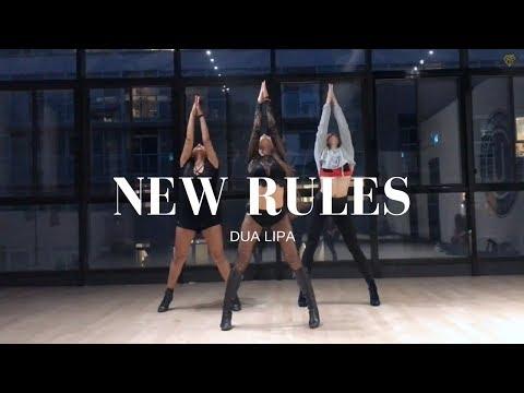 NEW RULES - Dua Lipa II MONICA GOLD CHOREOGRAPHY
