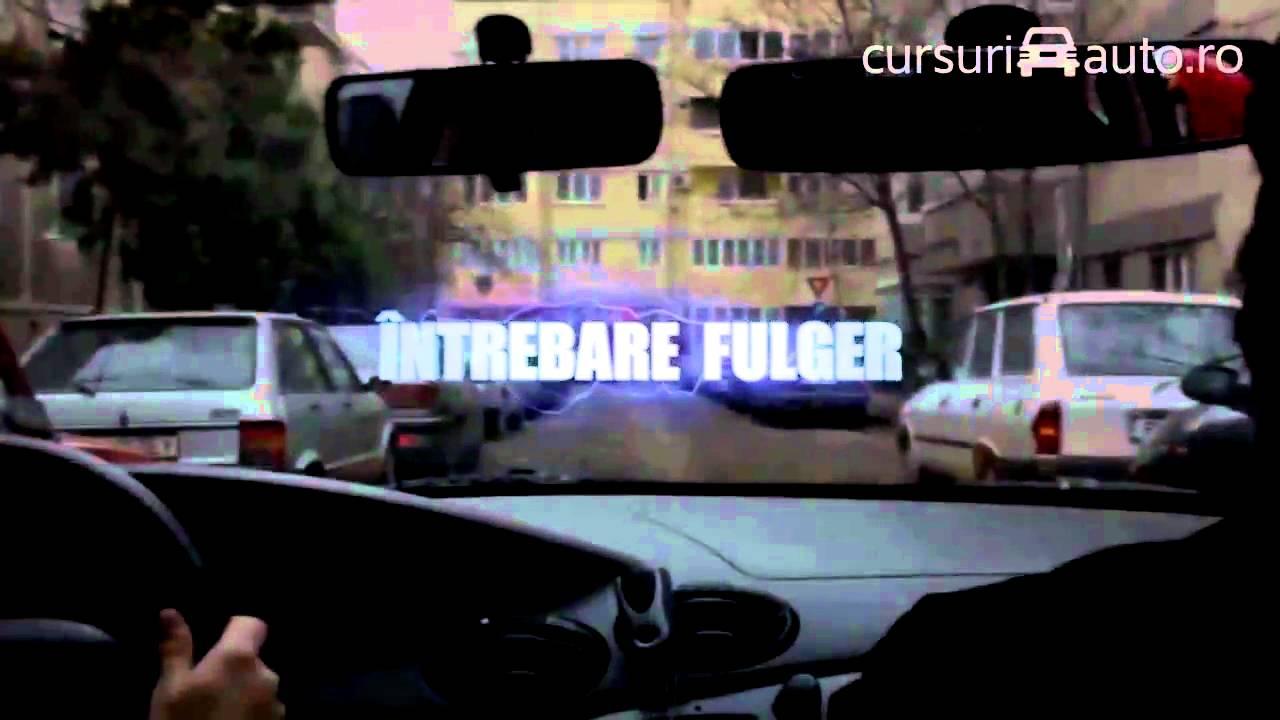 Conducere auto in trafic - episodul 2 @CursuriAuto.ro