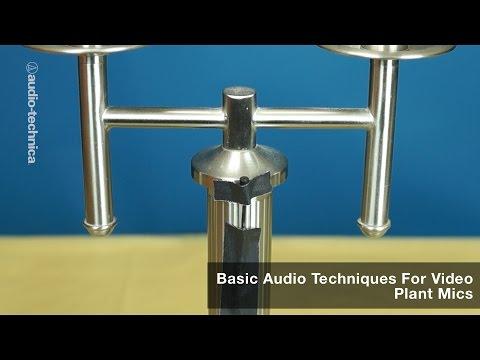 Basic Audio Techniques for Video: Plant Mics