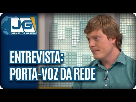 Maria Lydia entrevista José Gustavo, porta-voz da Rede Sustentabilidade, sobre eleições