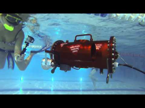 Home built underwater robot ROV in action POLAND BEST 01