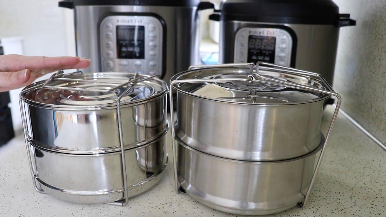 Instant Pot Insert Pans Ekovana Vs Maxrock Youtube