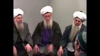 Sheikh Nazim al-Haqqani ar-Rabbani QS - old Zikr video from 1990's