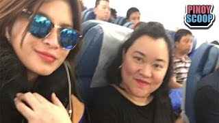 Angel Locsin Heads Back To PH After Spine Surgery