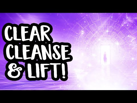 High Vibrational Cleanse With The Violet Flame