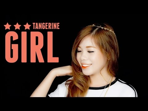 TANGERINE GIRL MAKEUP LOOK (WITH CC ENGSUB)