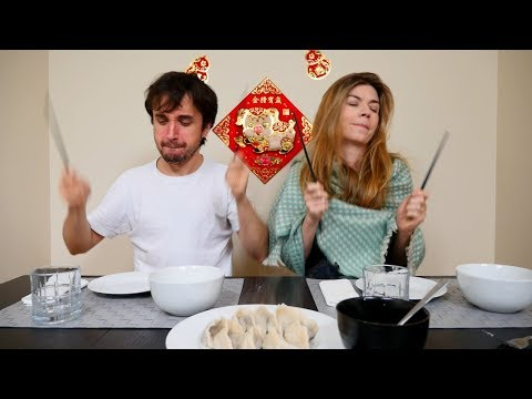 Brazilian  Stars Try: Traditional Chinese Food