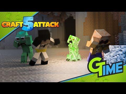 Legt euch niemals am Anfang mit ihnen an - Minecraft Craft Attack 5 #03 | Gamerstime