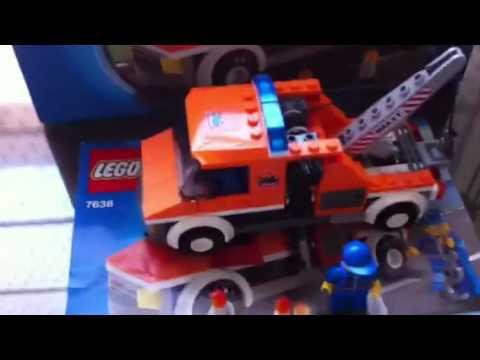 Grua Lego City 7638 para Iván - YouTube