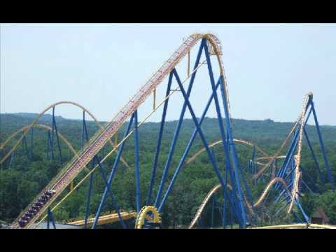 Six Flags Most Scariest Roller Coasters Youtube