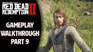 RED DEAD REDEMPTION 2 Gameplay Walkthrough Part 9 - SEAN (RDR2 PS4 Pro)