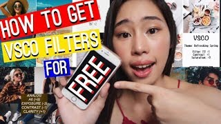 Gambar cover How to Get VSCO Filters for FREE !!!?
