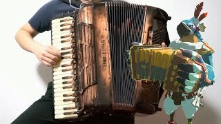 [Accordion]Kass' Theme (The Legend of Zelda: Breath of the Wild OST)-remake!